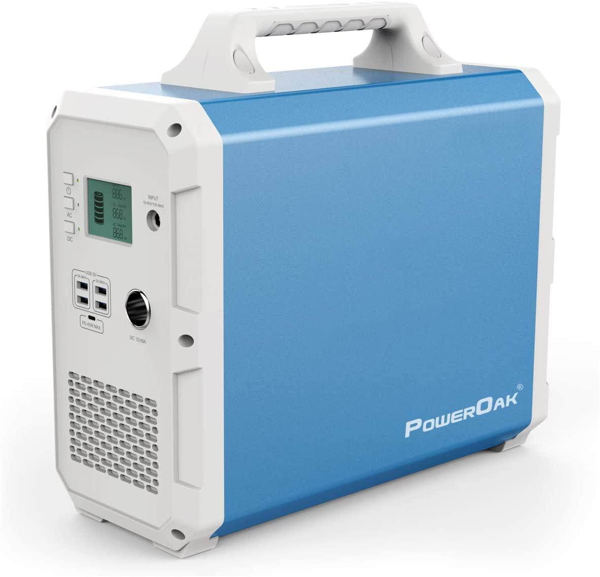 PowerOak Portable Solar Generator