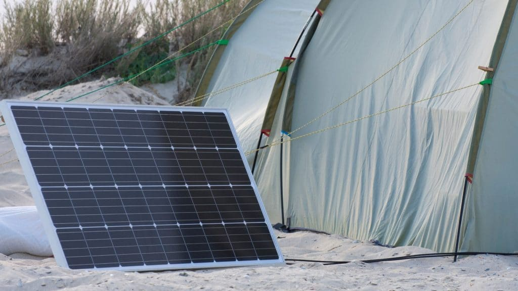 best portable solar panels for camping uk
